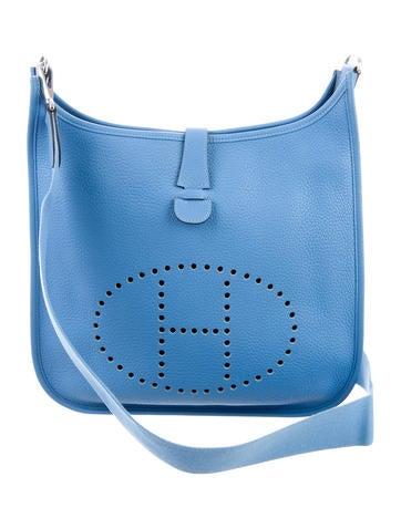 Evelyne Hermes light blue