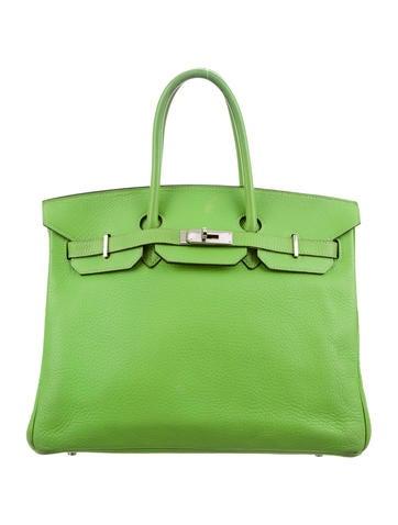 Birkin 35 light green