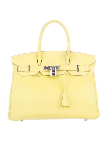 Birkin bag 30 Yellow