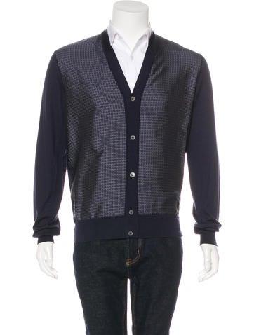 Hermès Cashmere Silk Cardigan w/ Tags None