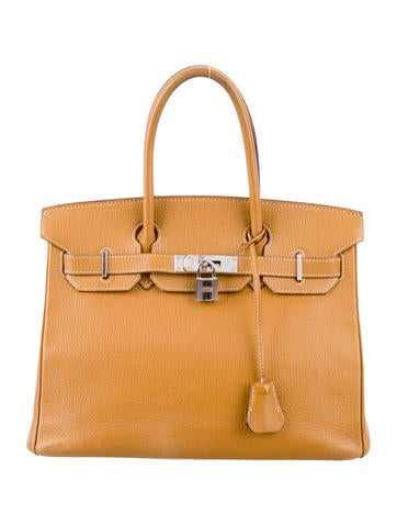 Birkin bag 30 Light Brown
