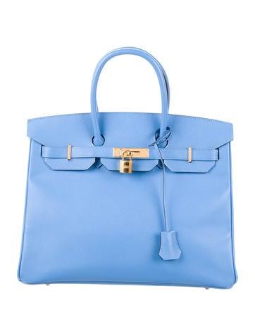 Birkin 35 light blue