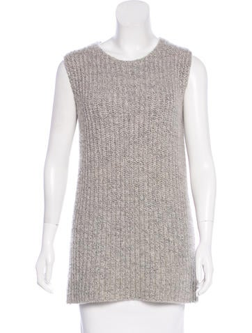 Hermès Sleeveless Crew Neck Sweater None