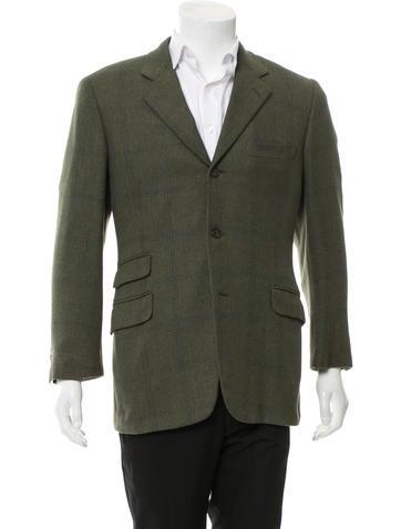 Wool & Angora-Blend Blazer