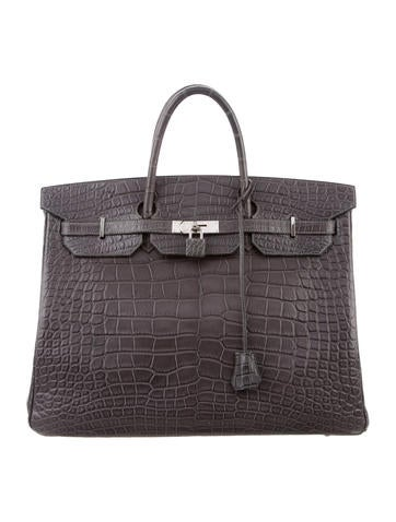 Alligator Birkin 40