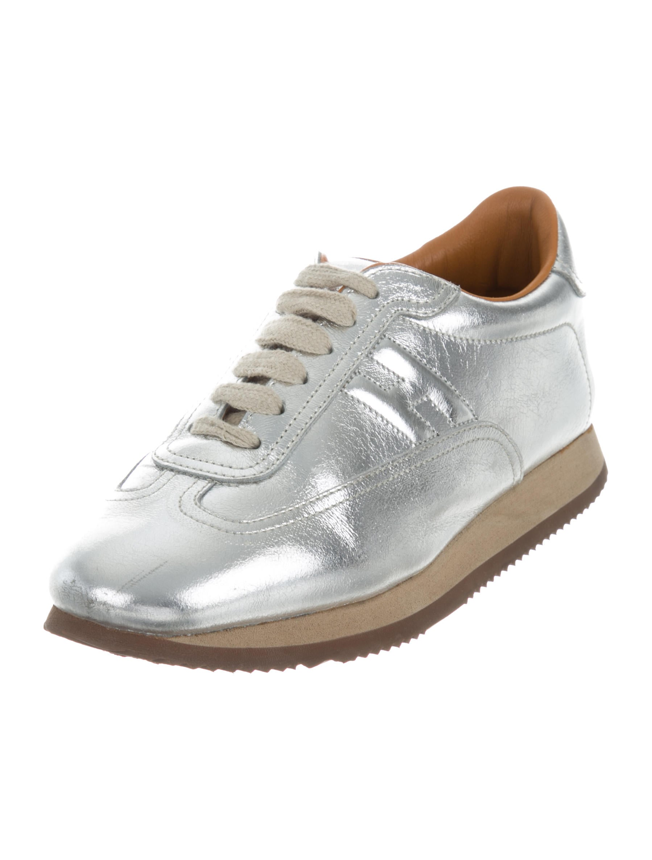 Hermès Quick Metallic Sneakers shopping online original popular online ZqsX4qQm