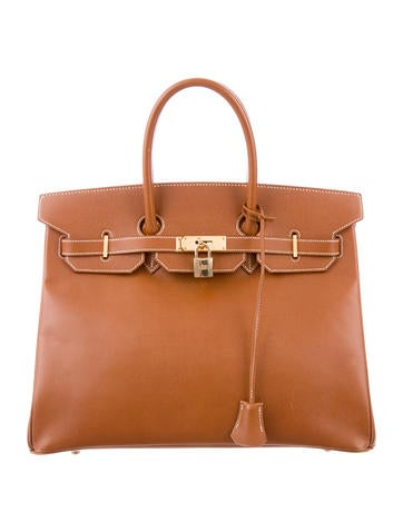 Birkin 35 brown