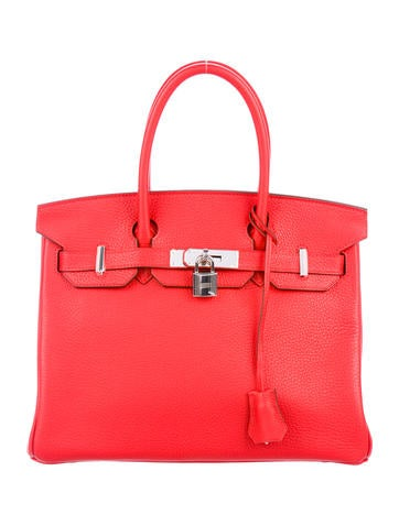 Birkin bag 30 red