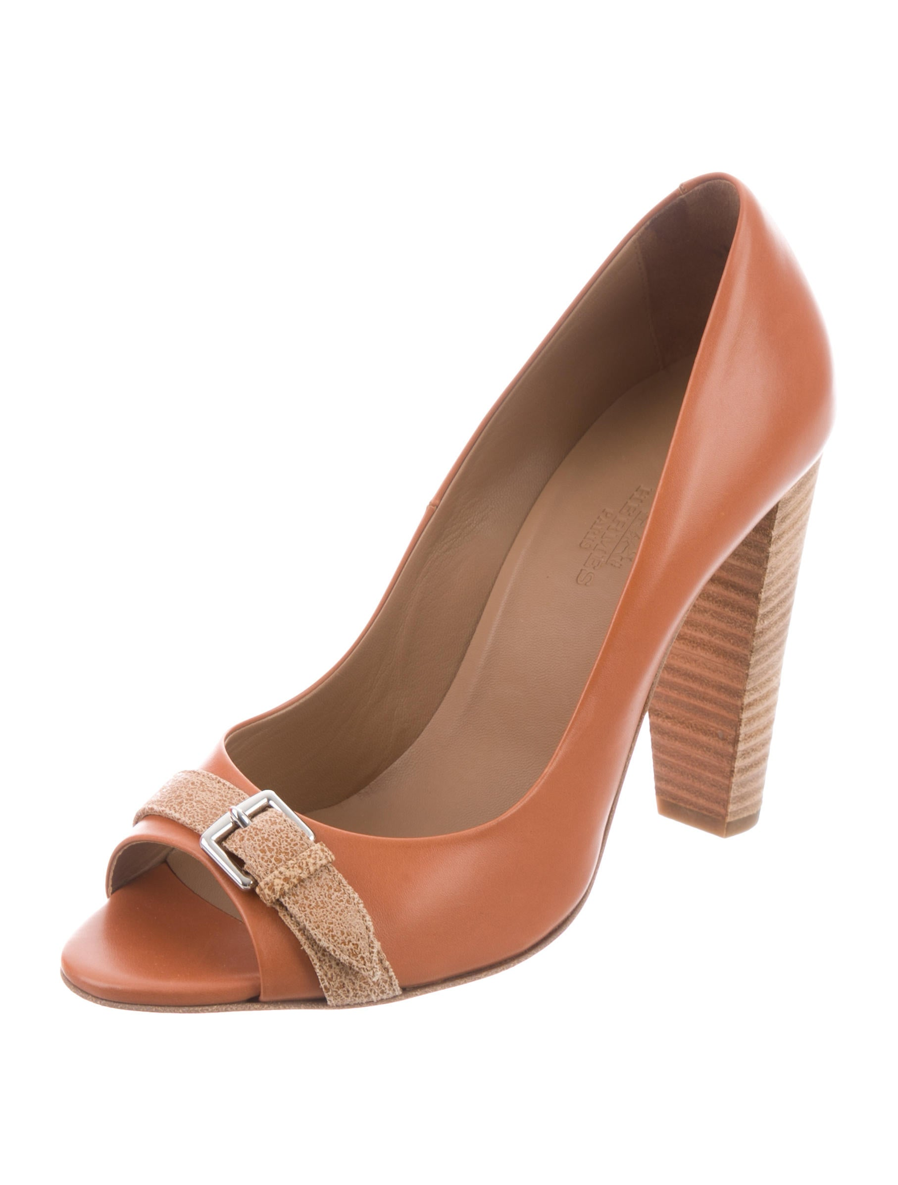 Hermès Envie Peep-Toe Pumps outlet largest supplier footlocker pictures cheap price cheap affordable hBn5h8OdQ