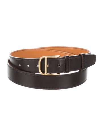 Box Leather Belt