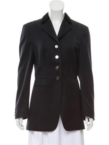 Hermès Structured Wool Coat None