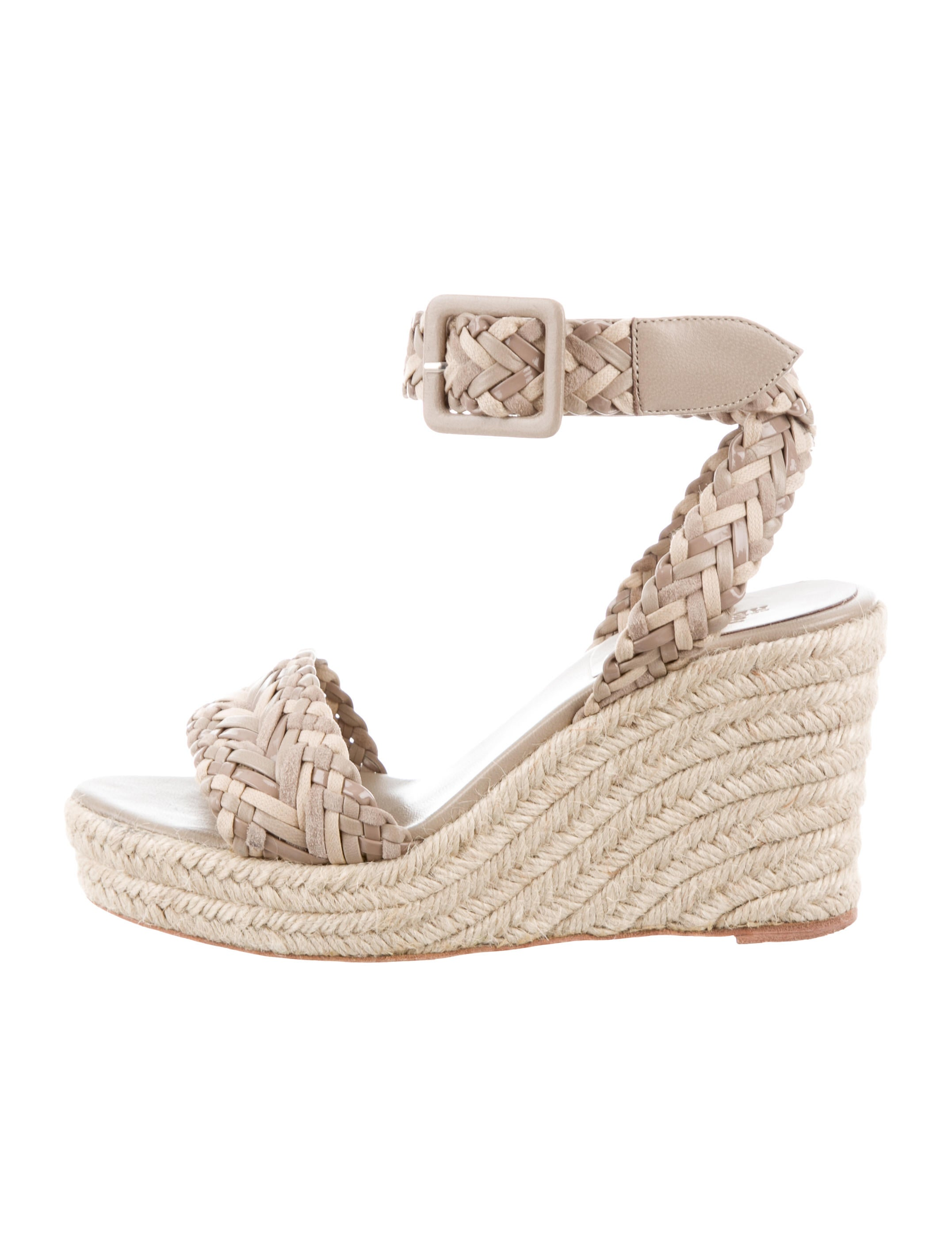 clearance 2015 wholesale price Hermès Woven Espadrille Sandals YG8pt1