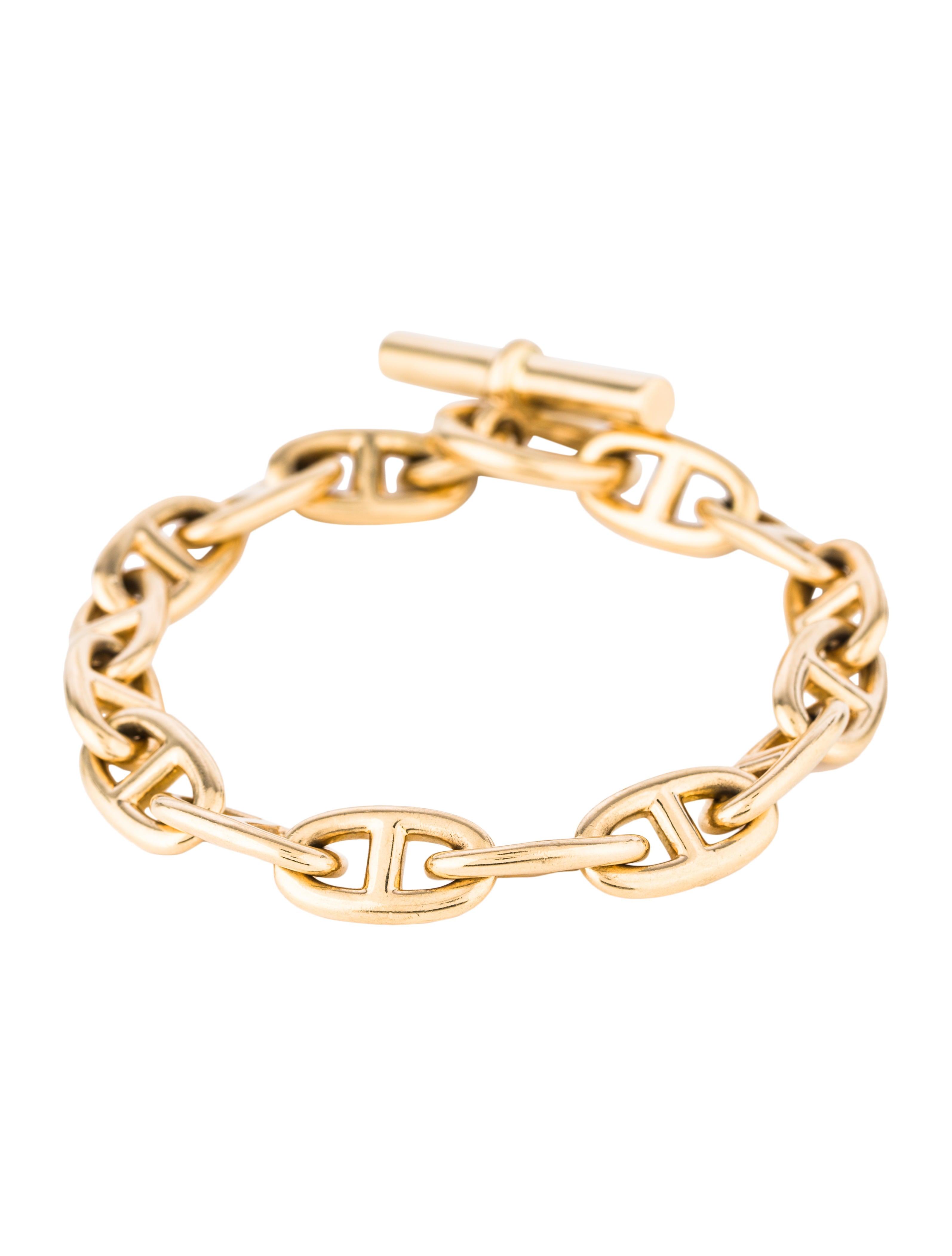 da469a6d9f67a7 Hermès Chaîne d'Ancre Bracelet - Bracelets - HER172193 | The RealReal