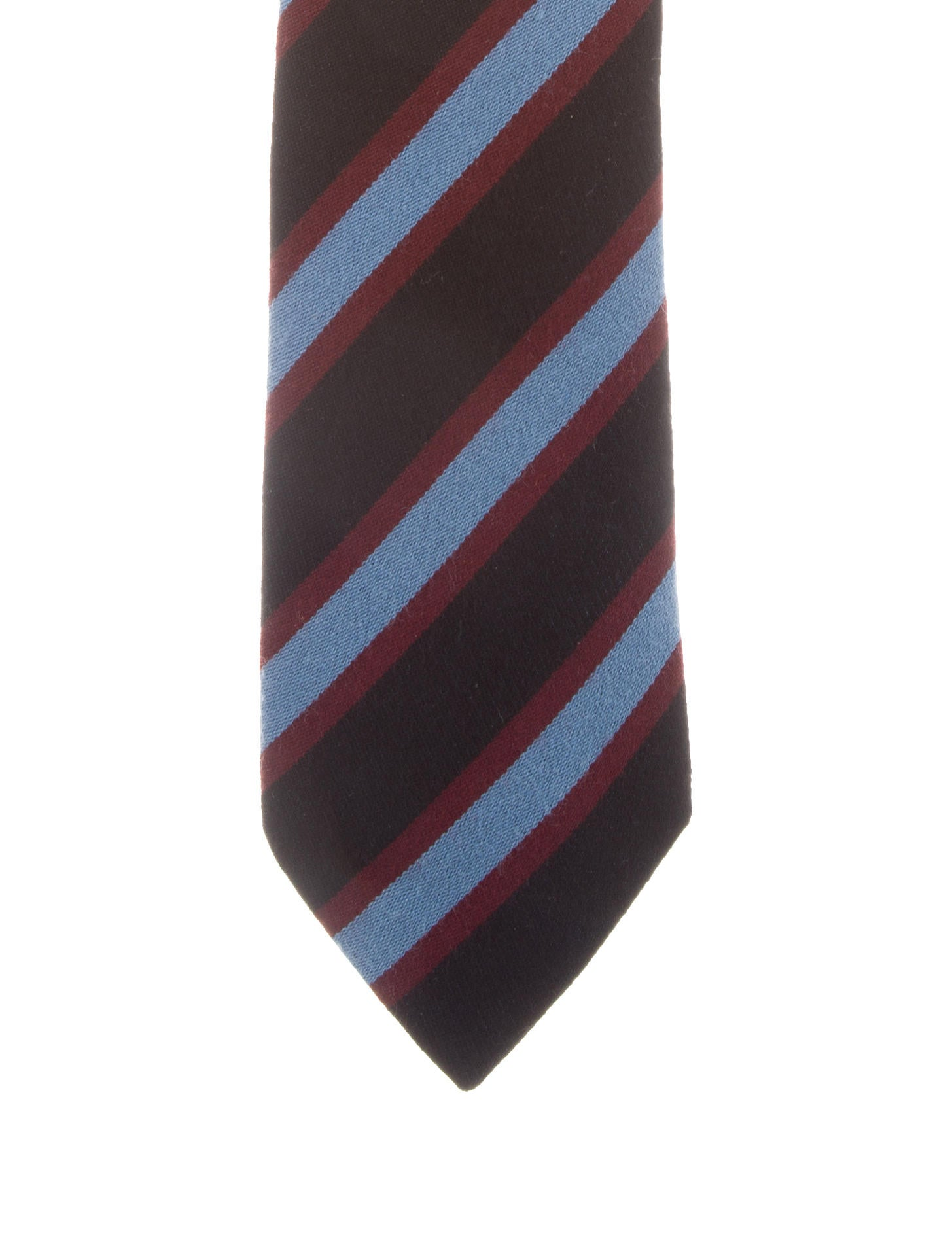 a05fd67aa172 Hermès Striped Wool Tie - Suiting Accessories - HER186107 | The RealReal
