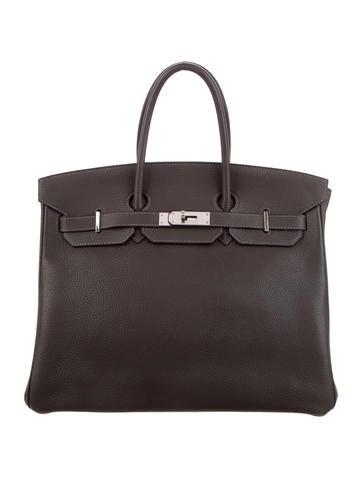 14aac9162aed Hermès Clemence Birkin 35 ...