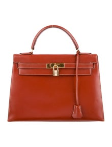 f135ea677668 Hermès. Box Kelly 32 Sellier