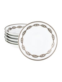 Set of 6 Chaine d'Ancre Soy Dishes image 1