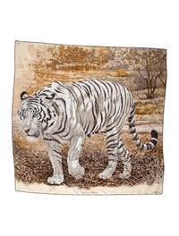 Tigre Du Bengale Silk Scarf image 1