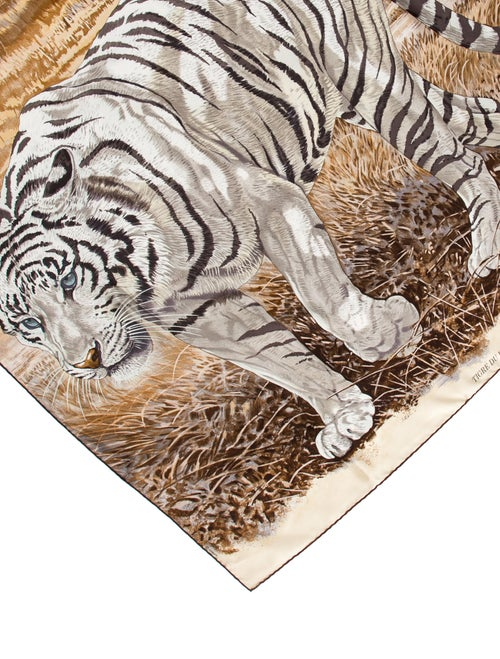 Tigre Du Bengale Silk Scarf
