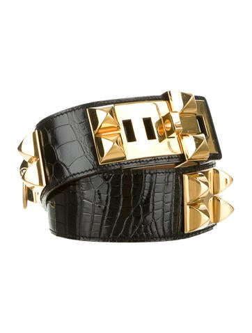 Crocodile Collier de Chien Belt