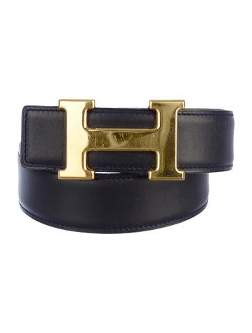 H Leather Belt