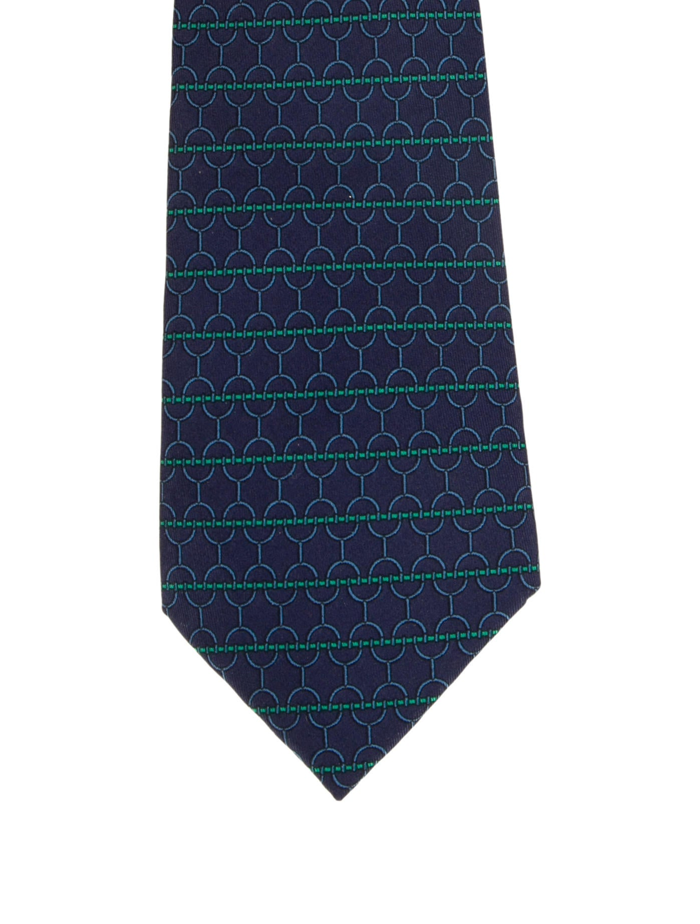 Hermès Printed Silk Tie - Suiting Accessories -           HER242649 | The RealReal