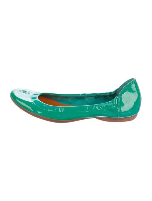 Hermès Patent Leather Ballet Flats