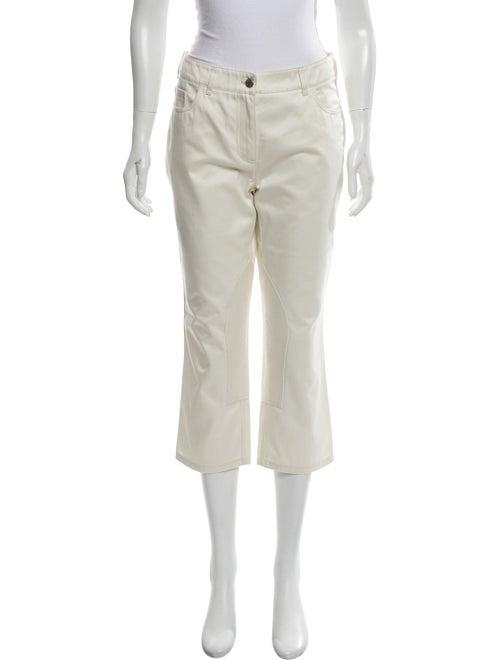 Hermès Mid-Rise Straight-Leg Jeans