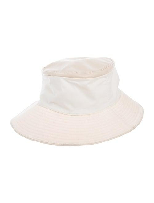 Hermès Leather-Trimmed Bucket Hat