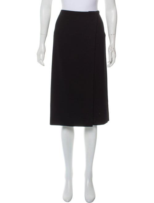 Hermès Wool Pencil Skirt Black