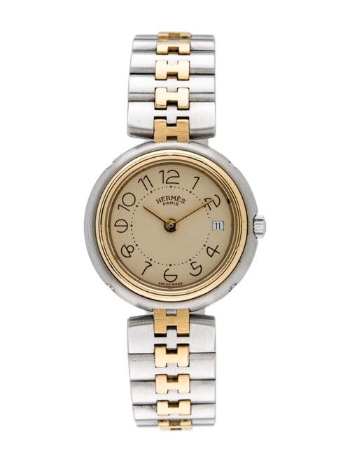 Hermès Profile Watch yellow