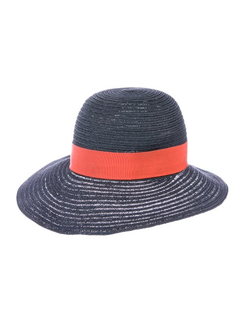 Hermès Hemp Straw Hat Blue