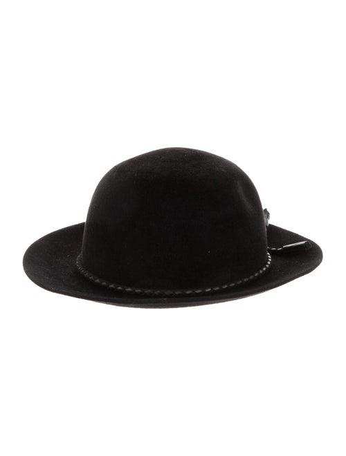 Hermès Fur Felt Fedora Black