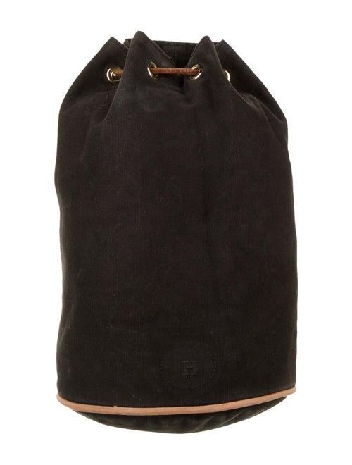 Hermès Toile Polochon Mimile Black