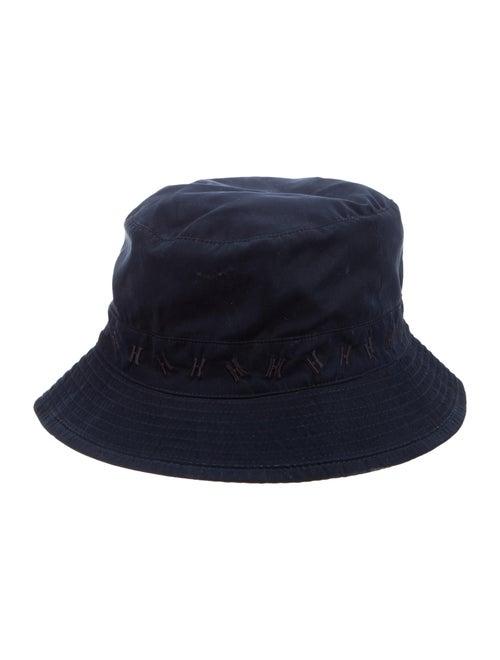 Hermès H Bucket Hat Navy