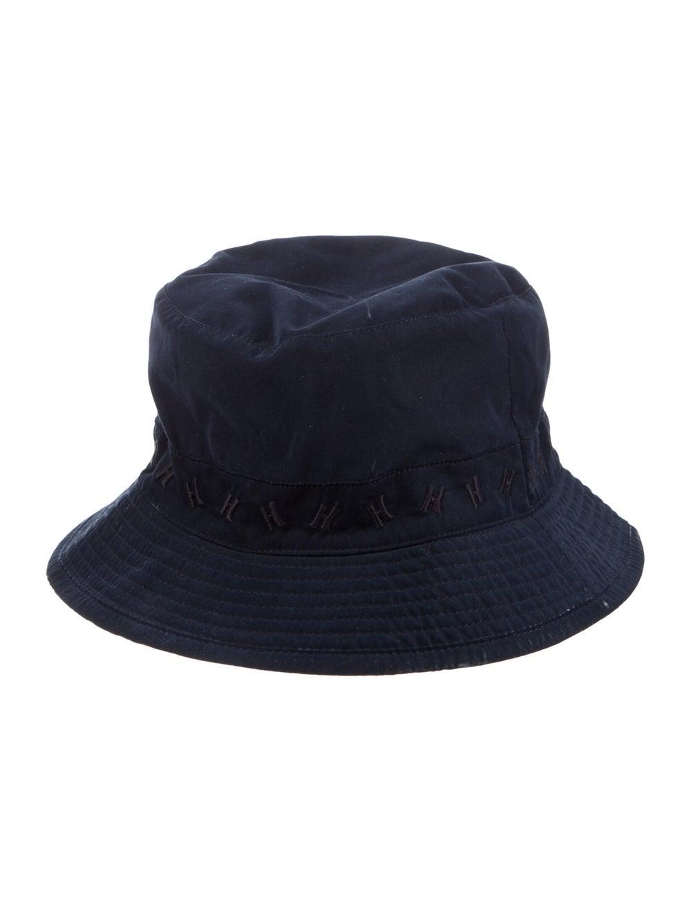 Hermès H Bucket Hat Navy - image 2