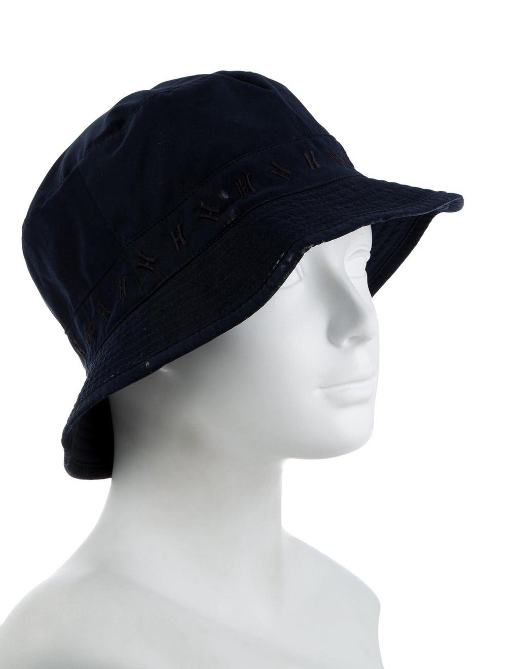 Hermès H Bucket Hat Navy - image 3
