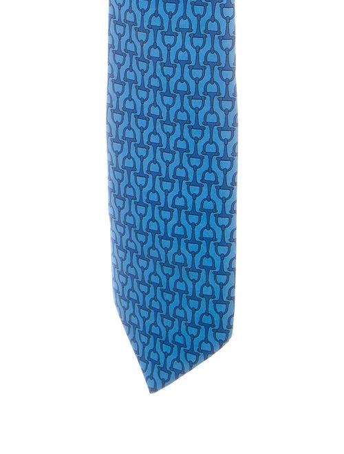 Hermès Mors Silk Tie multicolor