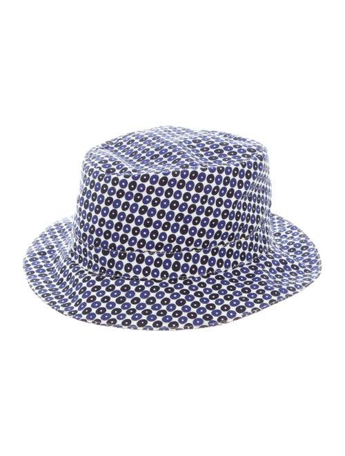 Hermès Dotted Bucket Hat White