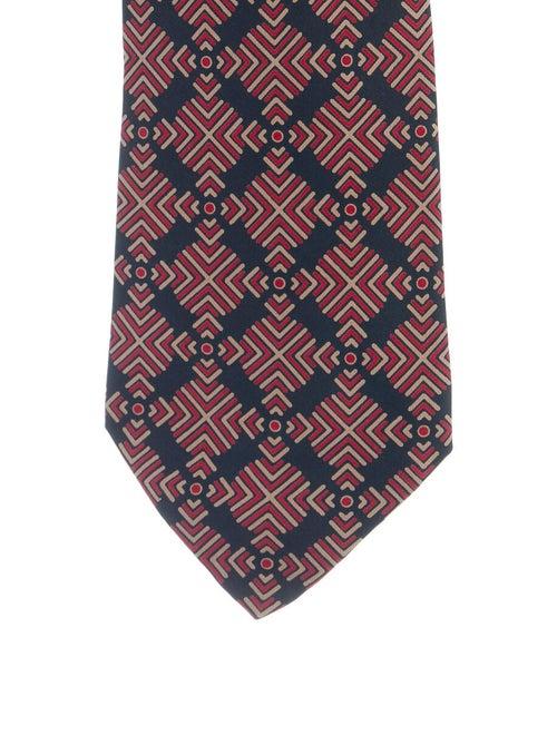 Hermès Vintage Silk Tie red