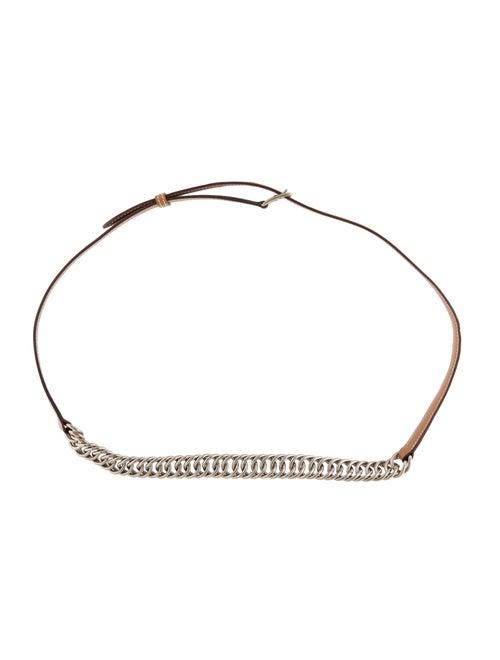 Hermès Etrivière Chain Belt Gold