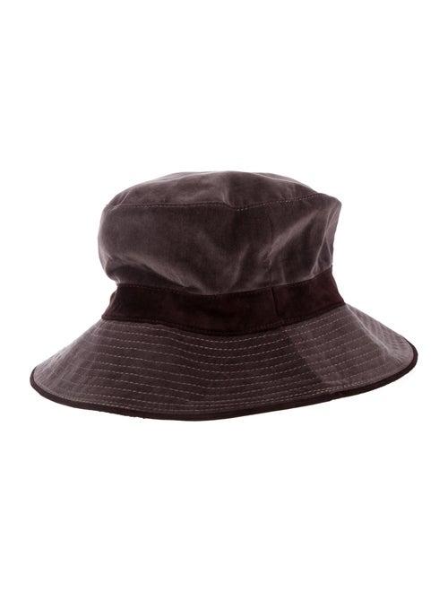 Hermès Velvet Bucket Hat Plum