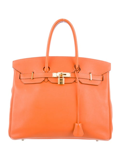 Hermès Swift Birkin 35 Orange