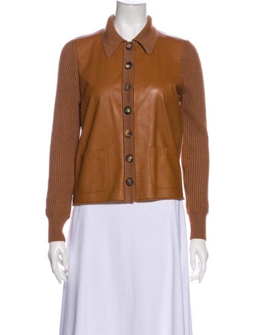 Hermès Cashmere Jacket Brown