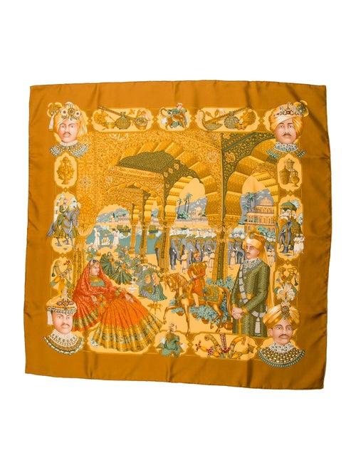 Hermès Maharajas Silk Scarf multicolor