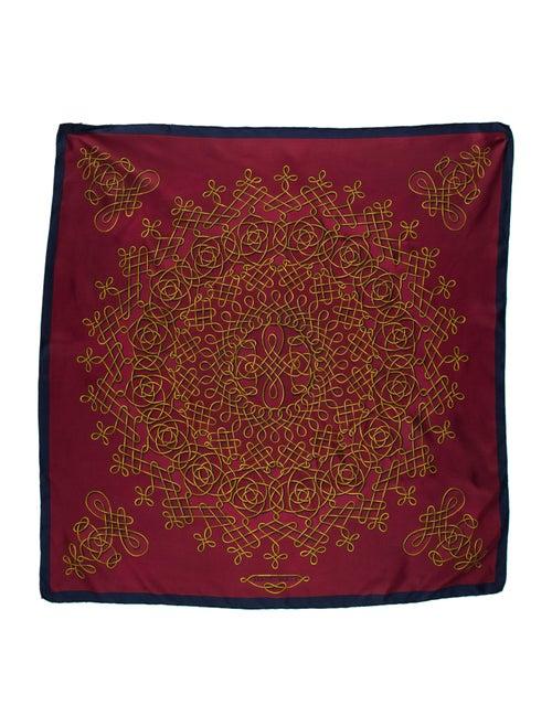 Hermès Printed Vintage Silk Scarf multicolor