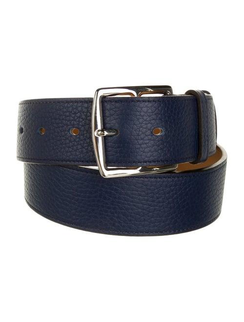 Hermès Etrivière 38Mm Belt Blue