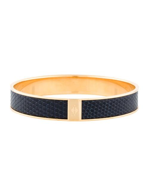Hermès Kawaii Lizard Bracelet yellow