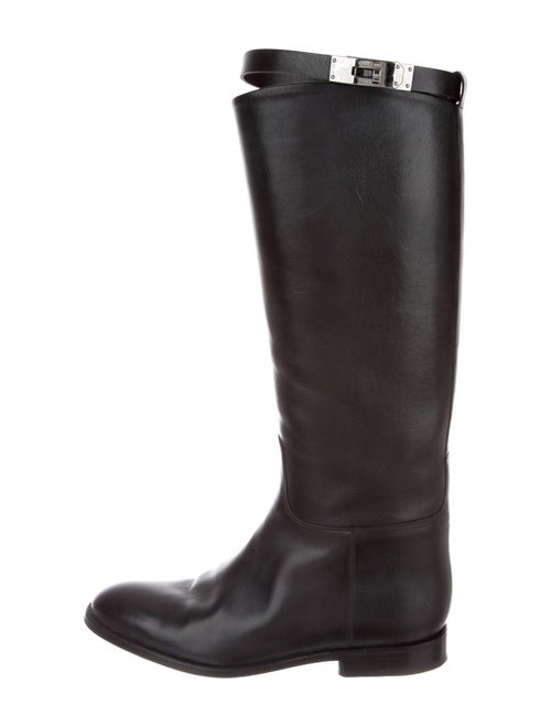 Hermès Jumping Leather Riding Boots Leather Riding