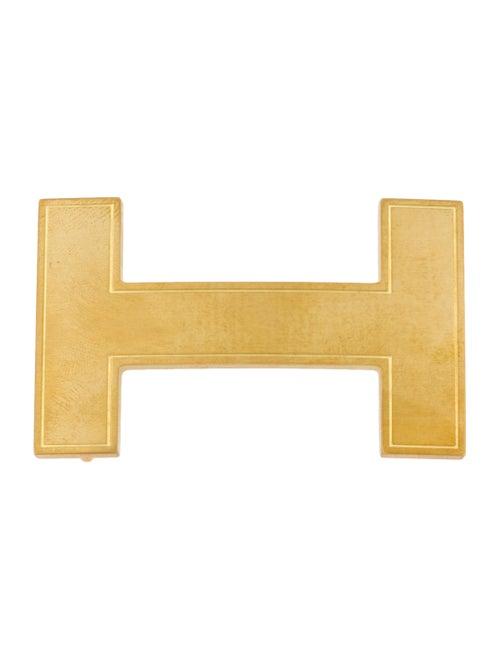 Hermès Quizz H Belt Buckle gold